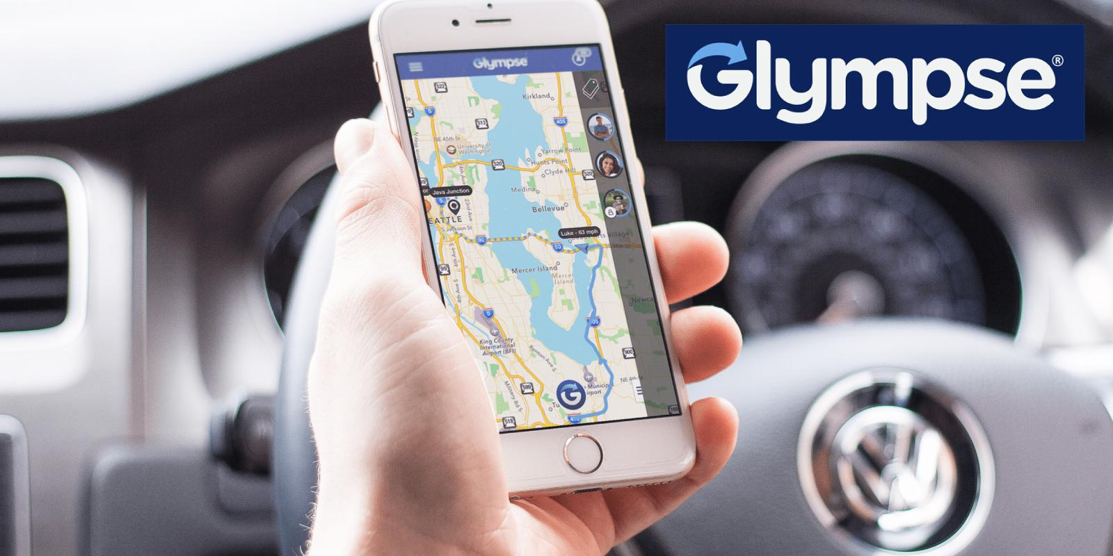 Glympse location mobile optimization