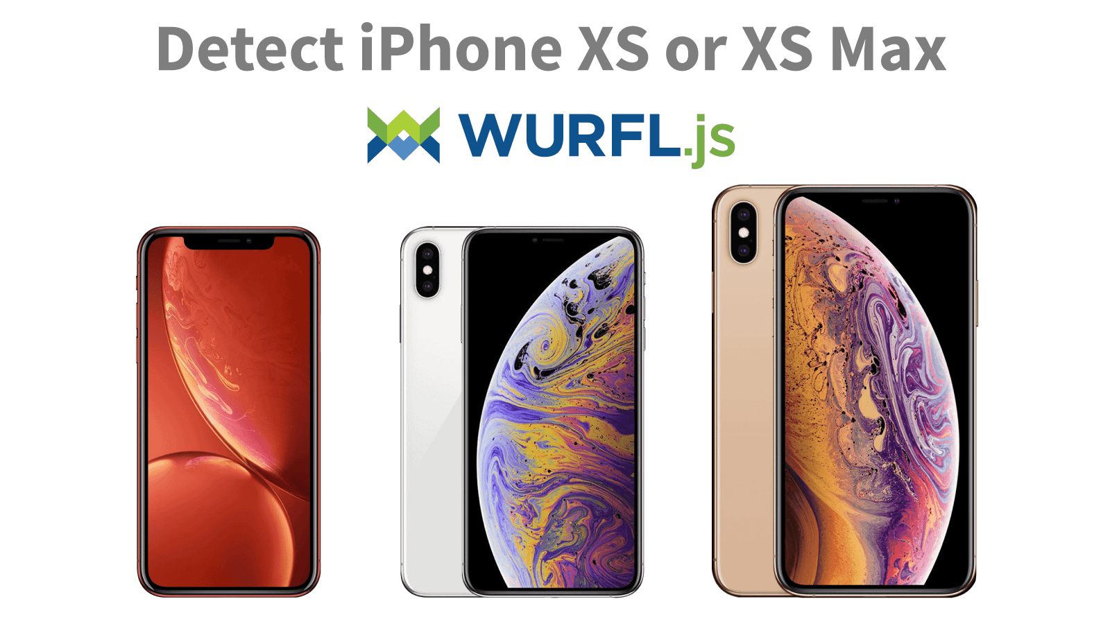 Detect iPhone XS Max WURFLjs