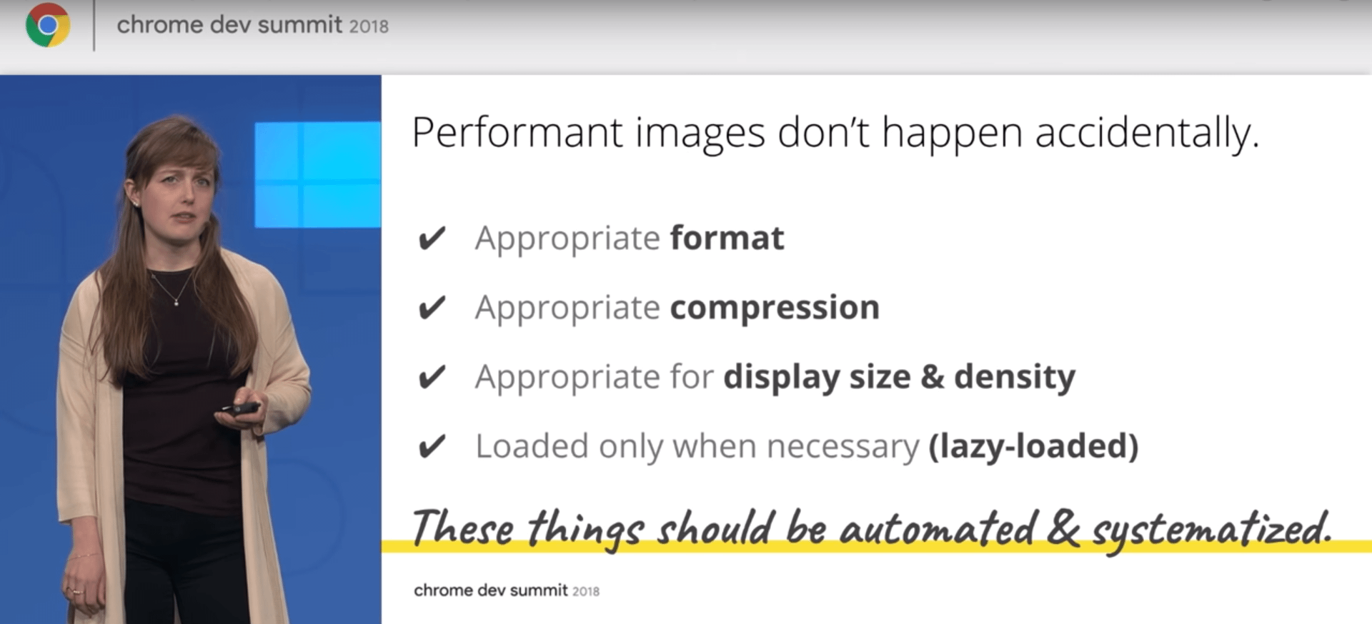 Responsive Chrome Images Key Points
