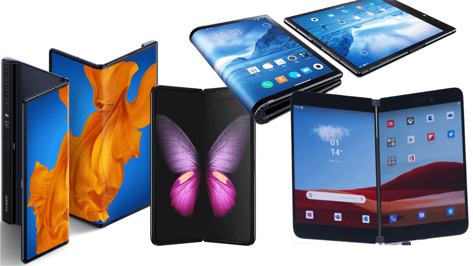 foldable phones 2020